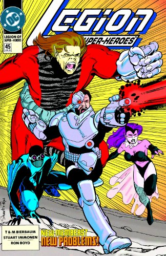 Legion of Super-Heroes (1989-2000) #45