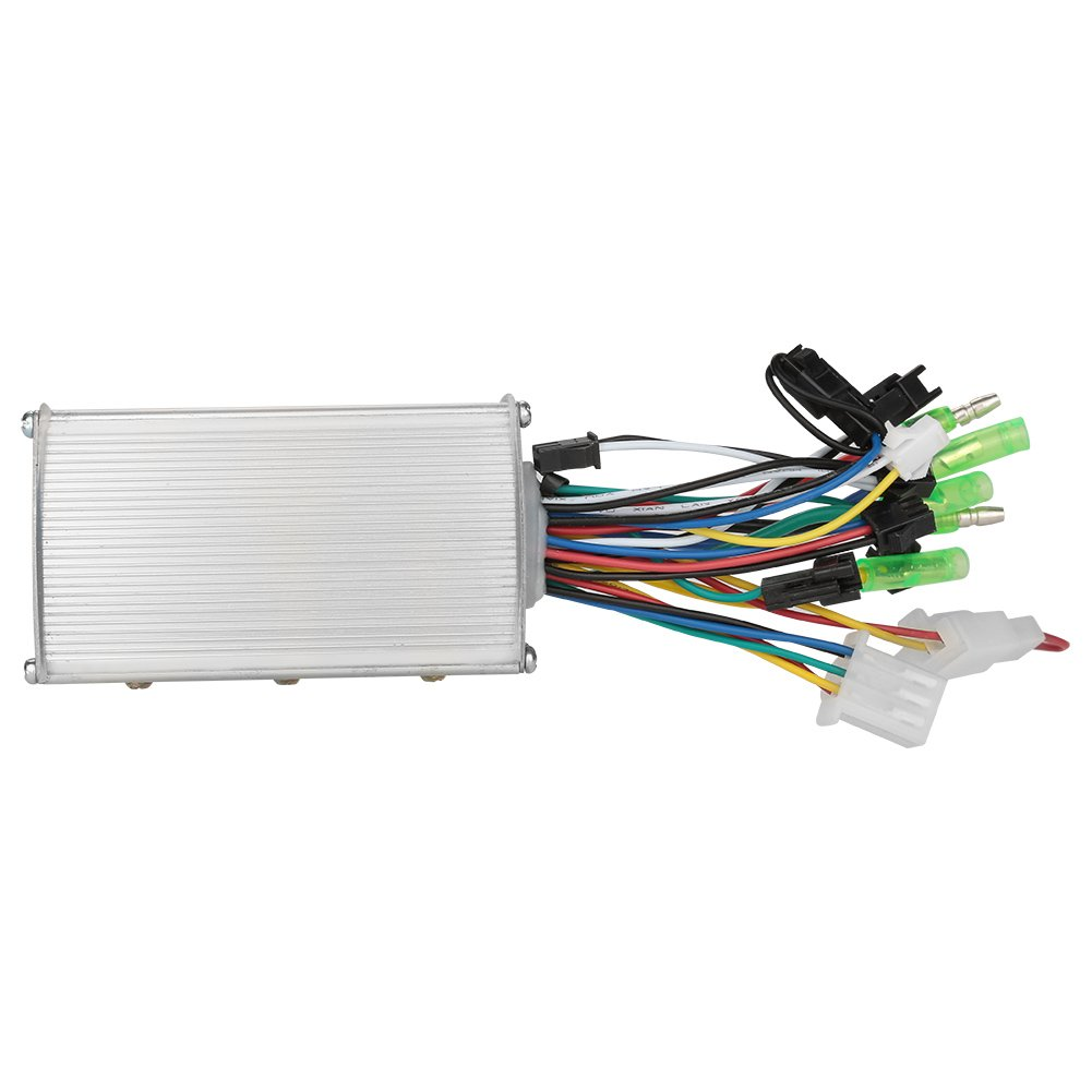 Dilwe 36V/48V 350W Electric Bicycle Brushless Motor Controller Aluminium Motor Controller For E-bike & Scooter
