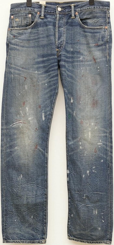 (ダブルアールエル) RRL 米国製 ローストレート Bergen ジーンズ 日本製デニム使用 メンズ Low Straight Selvedge Jean 並行輸入品 [並行輸入品] B07DN91XQ7 30W x 30L