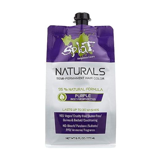 Splat Naturals, Semi-Permanent Purple Hair Dye