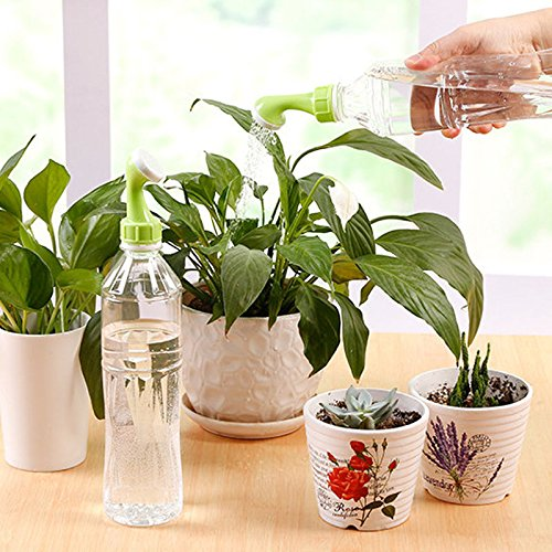 dingdangbell 1Pack Gardening Spray Watering Sprinkler, Mini Portable Plant Waterer Nozzle Garden Tools