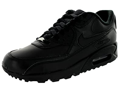 55946f0e4fea Image Unavailable. Image not available for. Color  Nike Men s Air Max 90  Black 302519-001 ...