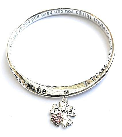 comprare on line af22d f61e0 Equilibrium, braccialetto con ciondolo con scritta