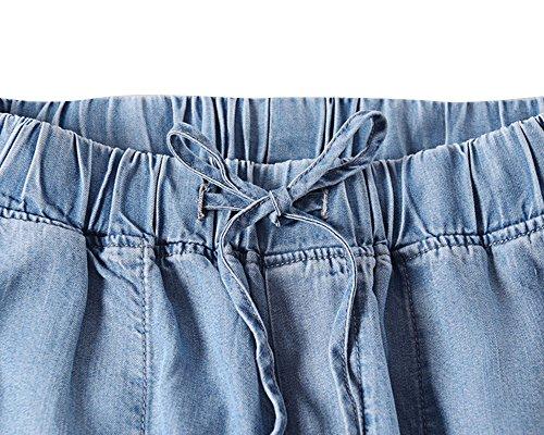 Ume Ume Jeans Donna Jeans Attillata Attillata Blue qqFwpar