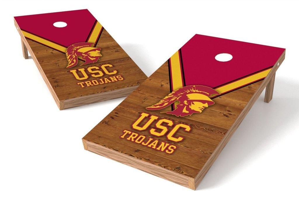 PROLINE NCAA College 2' x 4' USC Trojans Cornhole Board Set - Uniform