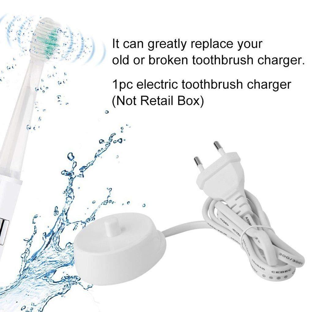 Sunlera Sostituzione Spazzolino Elettrico Caricabatteria per Braun Oral-b D16 D12 spazzolino da Denti Base di Ricarica