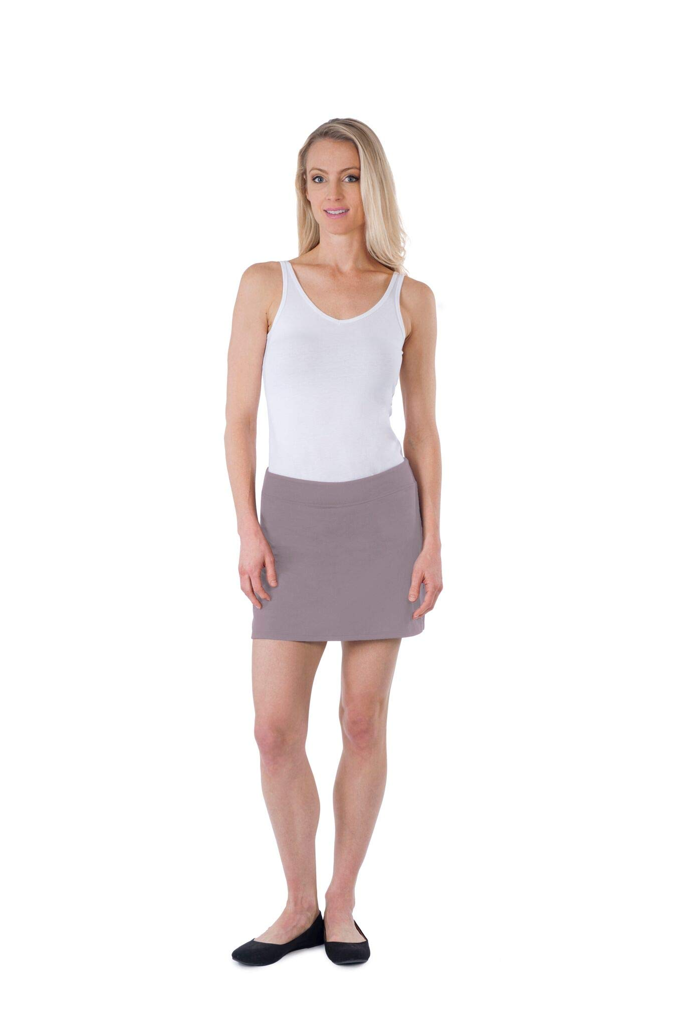 Colorado Clothing Women's Everyday Skort (Silver Lilac, S) by Colorado Clothing