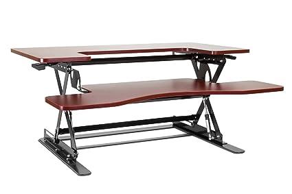 Tavolo Da Lavoro Sollevabile : Halter ed 258 tavolino da scrivania sollevabile preassemblato con