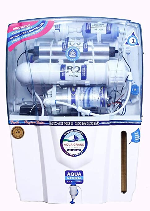 df8f1f321 Image Unavailable. Image not available for. Colour  GRAND PLUS Aquagrand  Audy 12 L RO + UV + UF + TDS Water Purifier BT