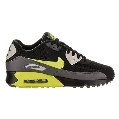 Nike Mens Air Max 90 Essential Running Shoes Dark GreyVoltBlackBone AJ1285 015 Size 13