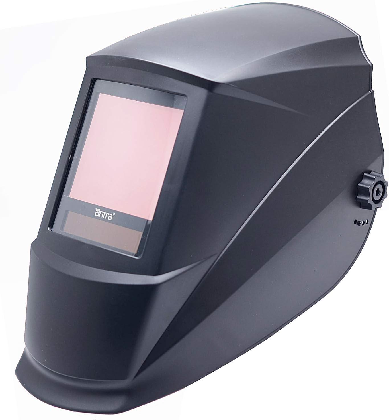 x 3.50 in Solar Power Auto Darkening Welding Helmet with a View Antra 3.76 in