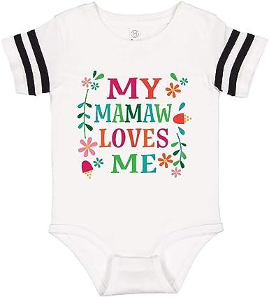 inktastic My Nana Loves Me Unicorn Infant Creeper