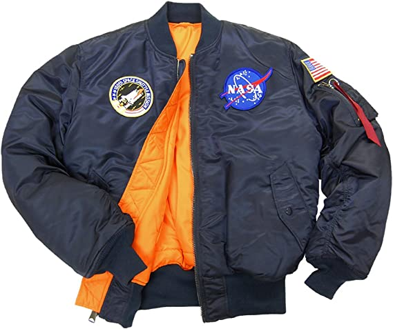 NASA Space Shuttle Crew Preference Flight Jacket Liner ISS Not Apollo nos