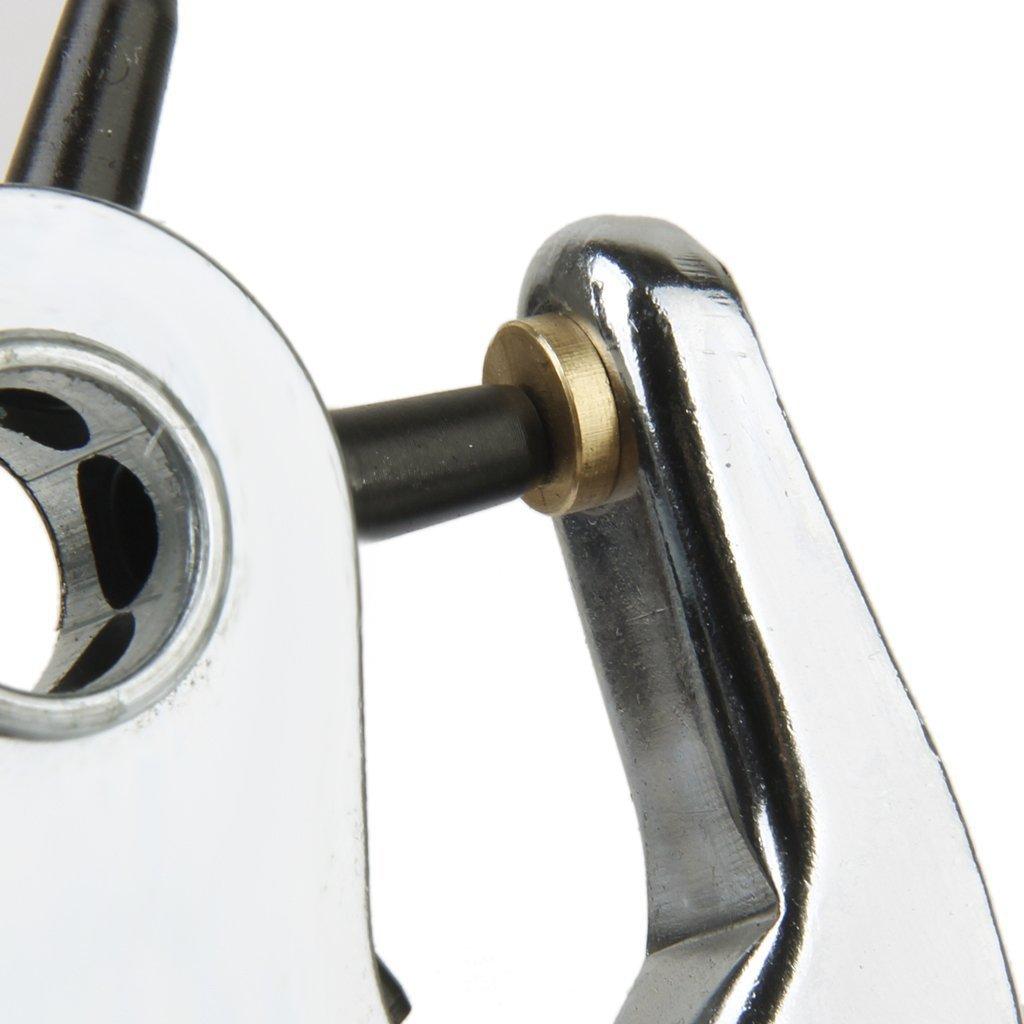 kimberleystore cintur/ón papel perforadora alicates de tama/ño 6/ /Plata