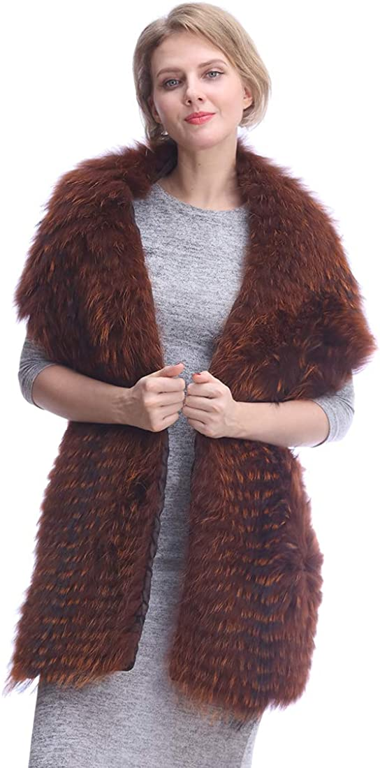 URSFUR Winter Real Fox Fur...