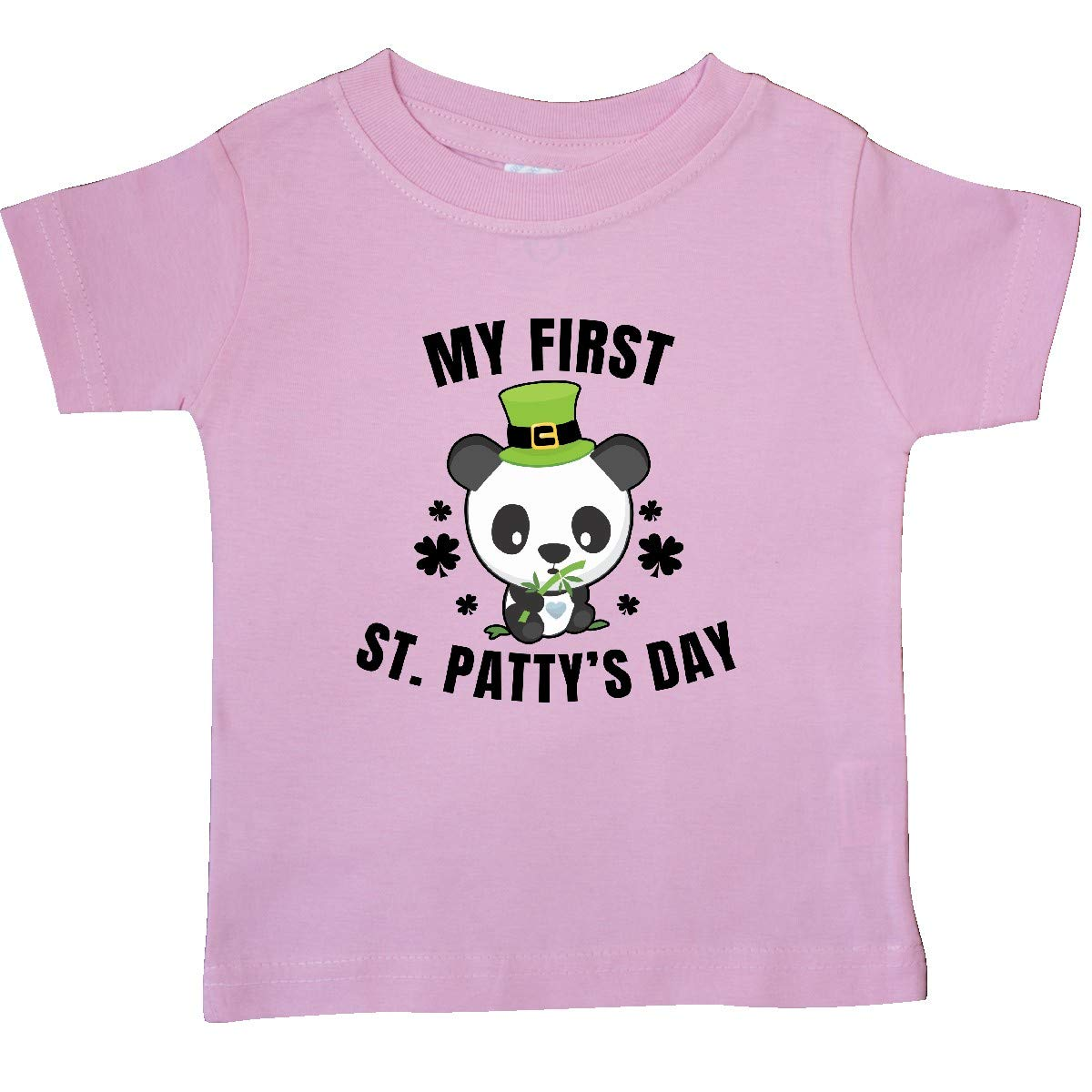 inktastic My First St Pattys Day with Cute Panda Baby T-Shirt