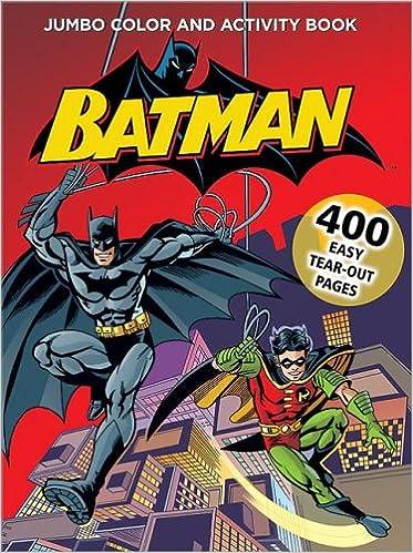 Batman Jumbo Color Activity Book DC Comics 9780696227226 Amazon Books