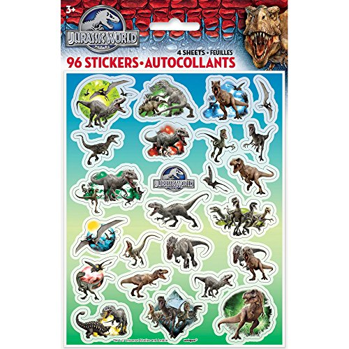 Cool Unique Halloween Costume Ideas (Jurassic World Sticker Sheets, 4ct)