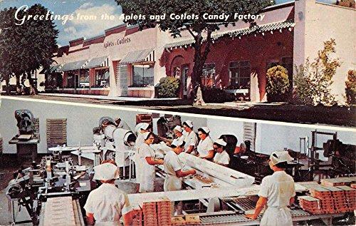 - Cashmere Washington Aplets Cotlets Candy Factory Multiview Postcard K66305
