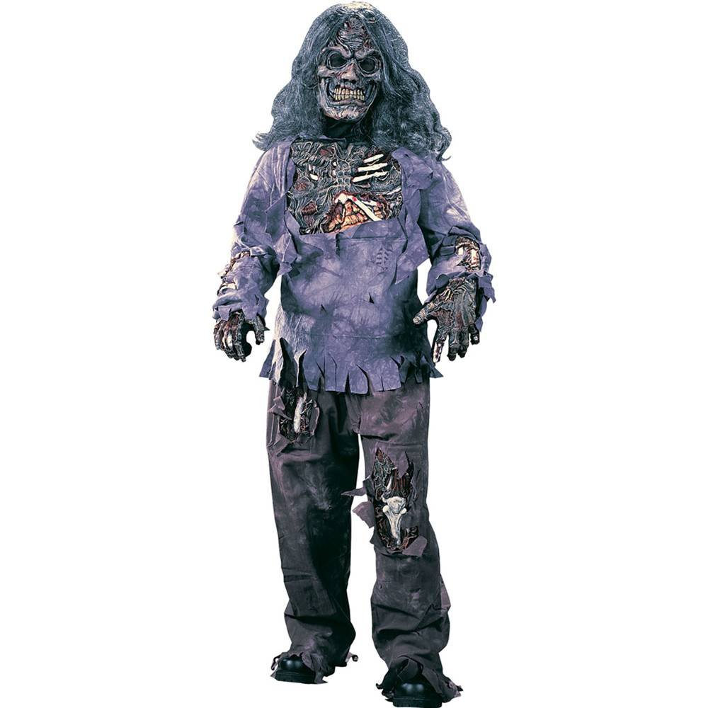 amazoncom zombie complete child costume large 12 14 toys games - Halloween Costumes Of Zombies