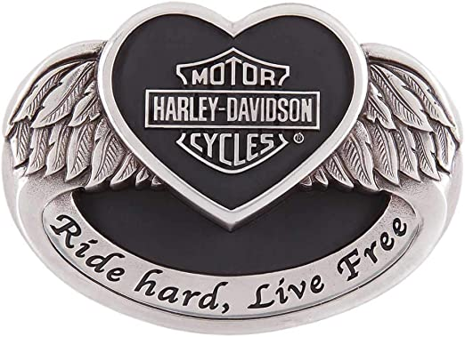 Harley-Davidson Women/'s Embellished Ace Belt Buckle