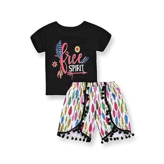 cd84e97ed2ab Memela New Arrived 1-3 Years Old Toddler Kids Baby Girl Clothes Set Letter  Printed