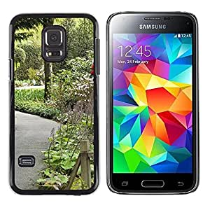 LECELL -- Funda protectora / Cubierta / Piel For Samsung Galaxy S5 Mini, SM-G800, NOT S5 REGULAR! -- Plant Nature Forrest Flower 106 --
