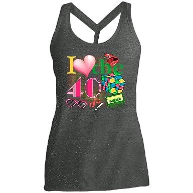 Amazon.com: Camiseta de fiesta de 40 cumpleaños para mujer ...
