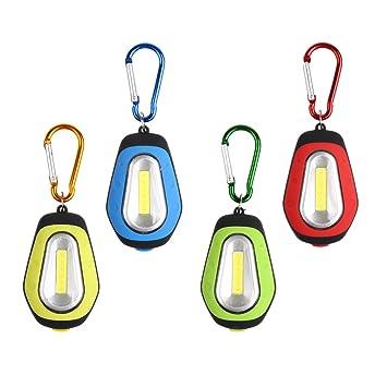 D DOLITY 4X Mini Luz Portátil LED Llavero Linterna Prodcutos ...