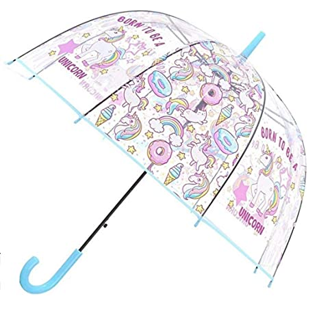 Paraguas Burbuja Unicornio - Transparente - Claro