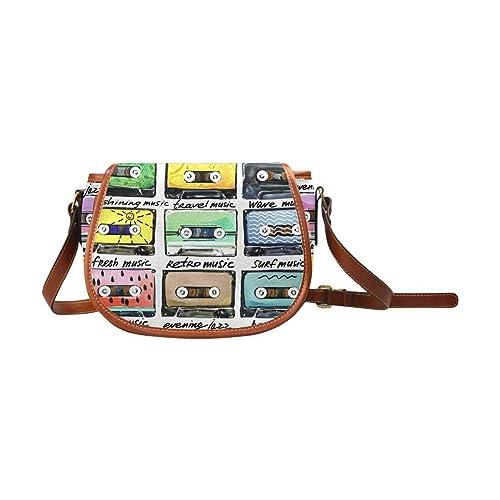 Amazon.com: InterestPrint - Bolso bandolera con cinta de ...