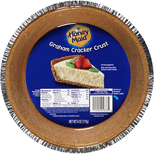 Honey Maid Graham Cracker Pie Crust, 6 Ounce ()
