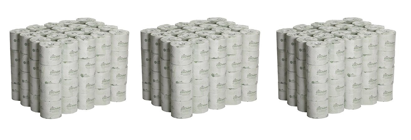 Georgia Pacific Professional 1988001 Bathroom Tissue, 550 Sheets Per Roll (Case of 80 rolls) (3 PACK)