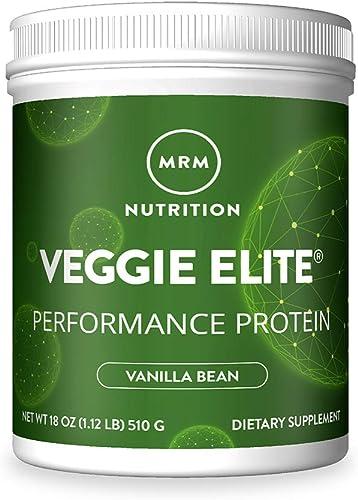 MRM Veggie Elite Protein Vanilla Bean, 1.2 Pound