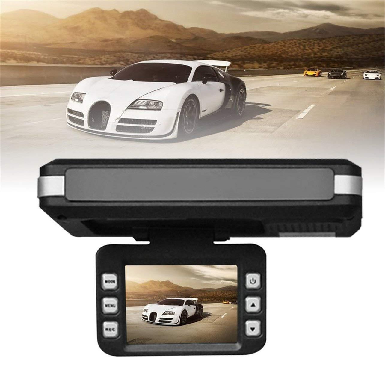 2 in 1 Car DVR Radar Dash Cam Laser Video Speed Detector/GPS Car Camera Record (Color: Black) WOSOSYEYO