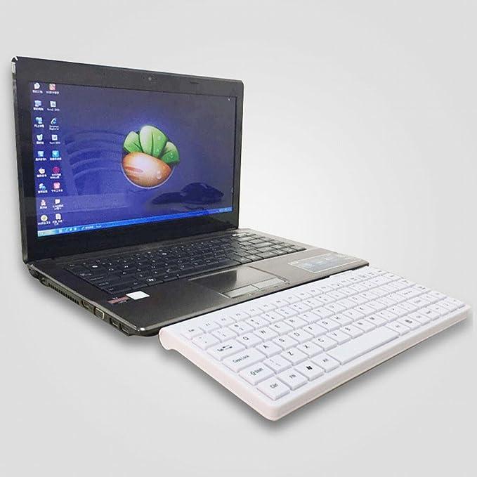 GG PB portátil externo Mini de teclado Mini Delgado USB ...