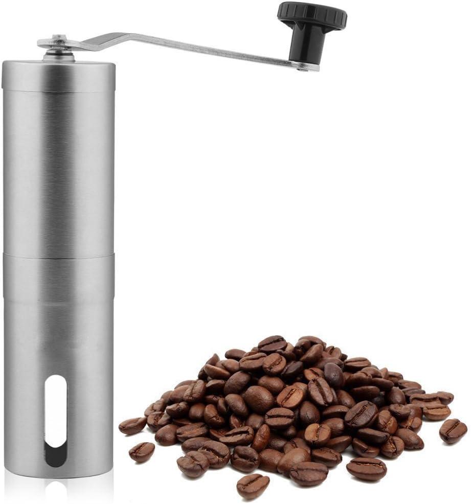Molinillo de Café Manual Moledor Finura Ajustable Acero Inoxidable ...