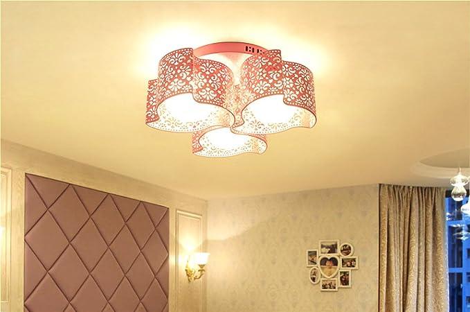 Amazon.com: Lámpara de techo sencilla y moderna con montaje ...