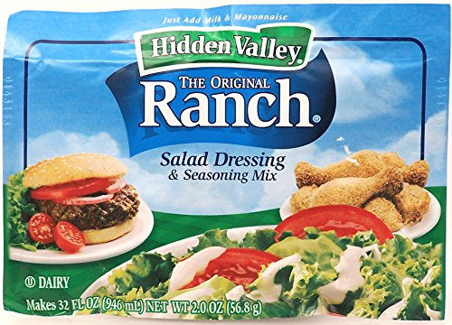 ingredients in dry ranch dressing - 6