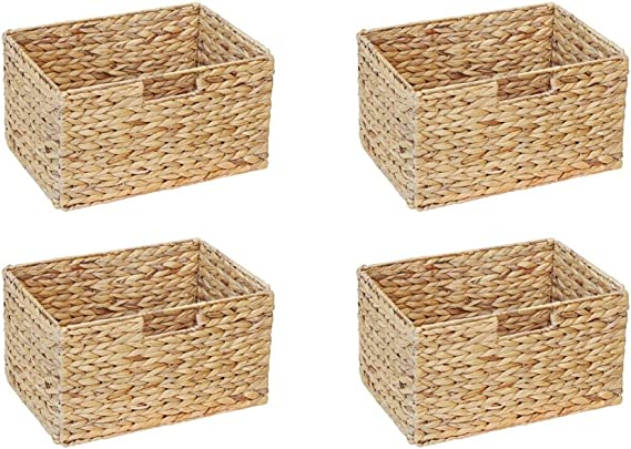 Ikea Billy cesta para estanterías (Juego de 4)/jacinto de agua