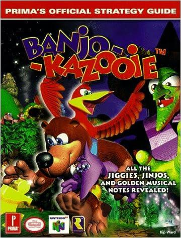 Banjo kazooie (prima's official strategy guide): kip ward.