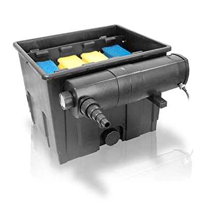 Berlan Set Pond Filter 12,000 l + Water Clarifier 18 Watt