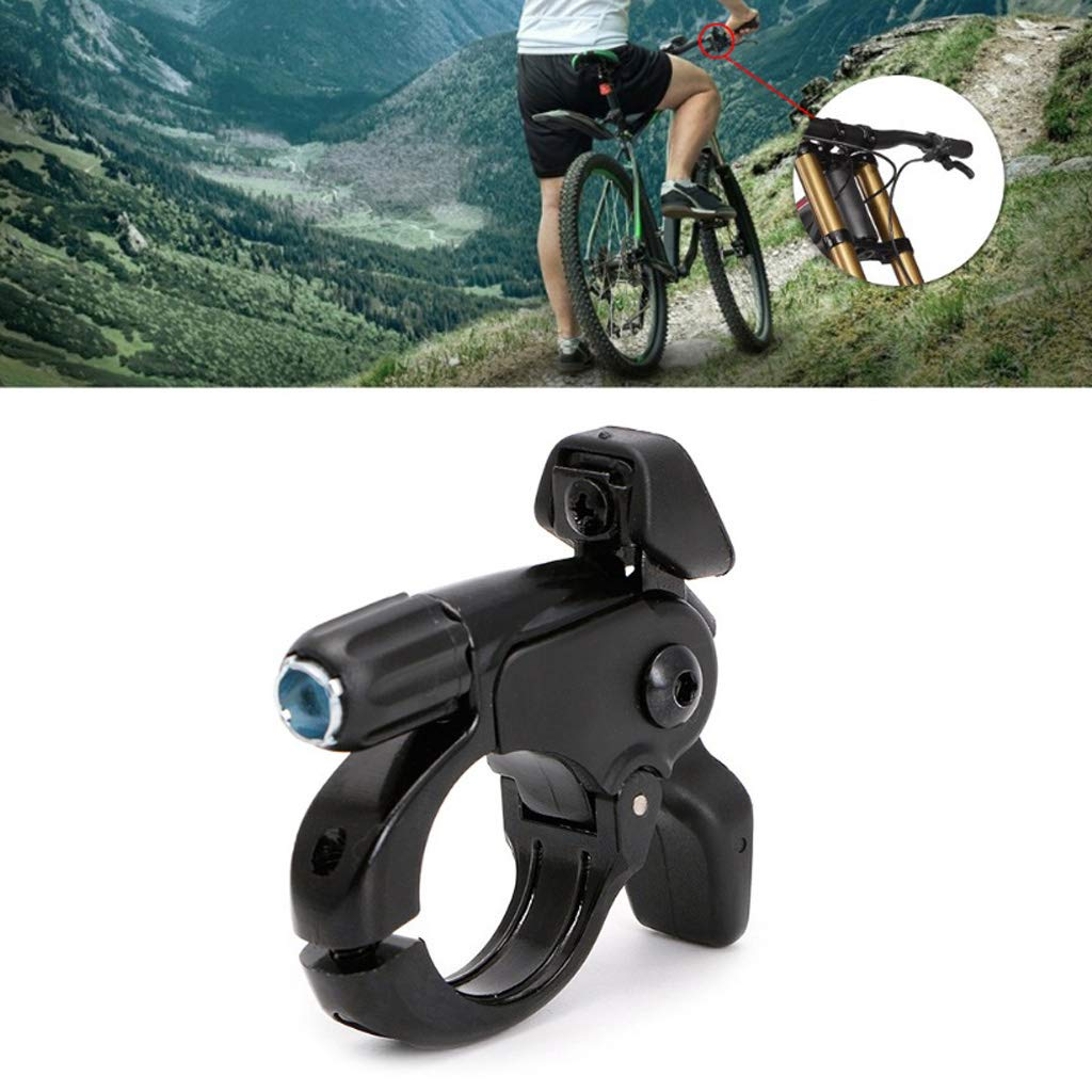 5.8cmx5.5cmx2cm SM SunniMix Universal Bike Remote Lockout Lever Suspension Fork Lockouts Accessories