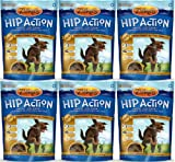 Zukes Hip Action Glucosamine and Chondroitin Peanut Butter 6lb (6x1lb), My Pet Supplies
