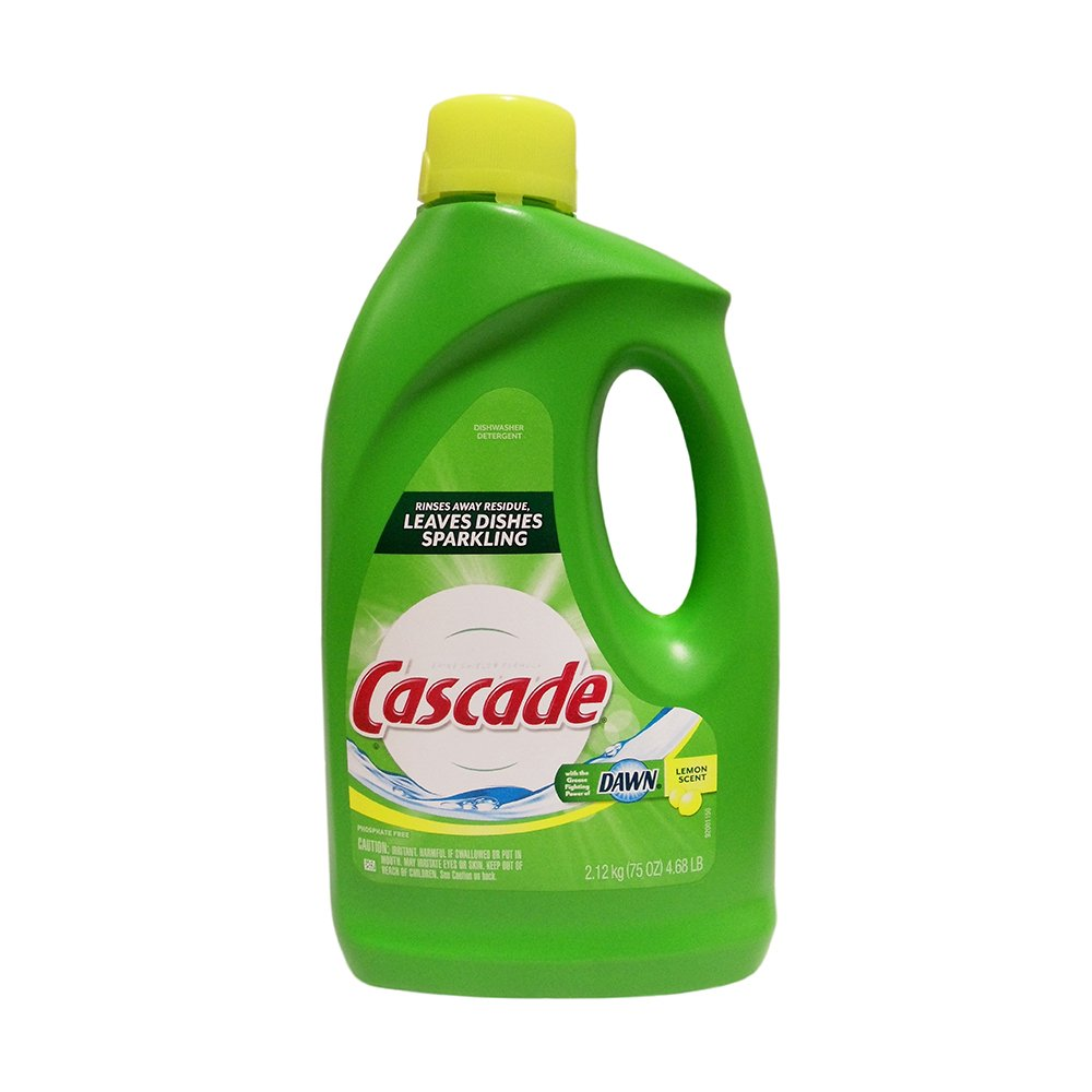 Cascade Lemon Gel 4.68 lbs , Automotive, tool & industrial , Office maintenance, janitorial & lunchroom , Cleaning supplies , Dish detergent