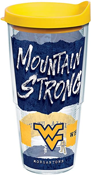 bc4fd1f425f Image Unavailable. Image not available for. Color: Tervis 1245759 West  Virginia Mountaineers College Statement Insulated Tumbler ...