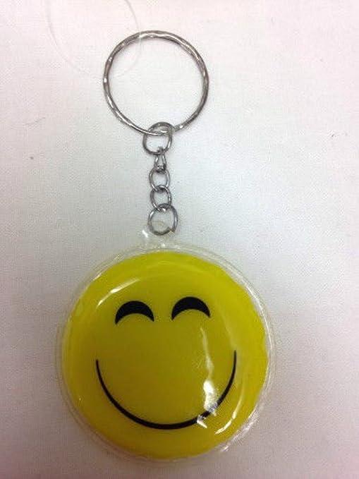 Other Llavero Emoji de plástico de 5 cm, 8 diseños, Perfecto ...
