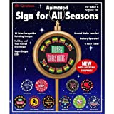 MR CHRISTMAS ANIMATED SIGN FOR ALL SEASONS by Mr. Christmas