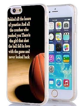 iPhone 6 Funda, iPhone 6S Case de baloncesto Forever: Amazon.es ...