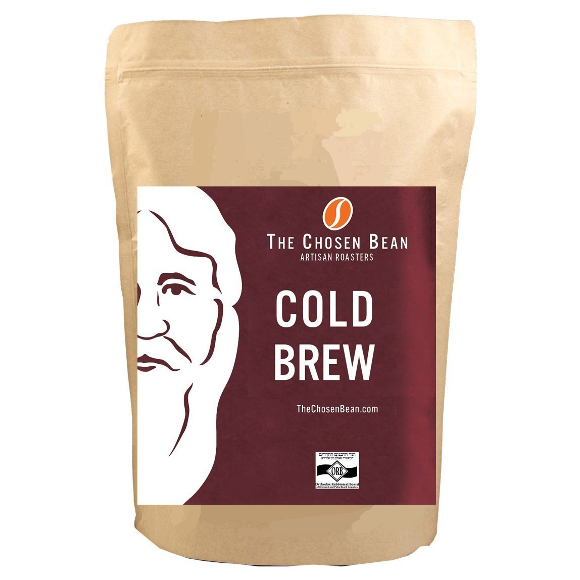Cold Brew Coffee Solution Specialty Coffee Beans (Cold Brew Grind, 5LB) by The Chosen Bean
